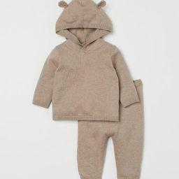 Fine-knit Cotton Set | H&M (US)