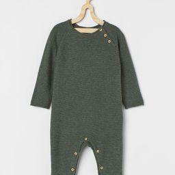 Knit Cotton Jumpsuit | H&M (US)