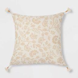 Jacobean Square Throw Pillow - Threshold™   Target
