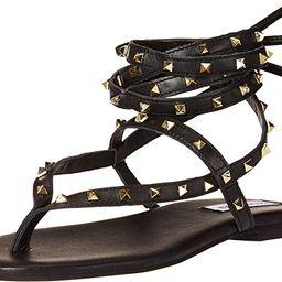Steve Madden Women's Telsa Flat Sandal   Amazon (US)