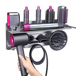 Hair Dryer Holder for Dyson Supersonic Hair Dryer, for Dyson Airwrap Styler Organizer Storage She...   Amazon (US)