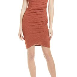 Ruched Side Sleeveless Dress | Nordstrom