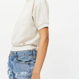 BDG Nina Short Sleeve Sweatshirt | Urban Outfitters (US and RoW)