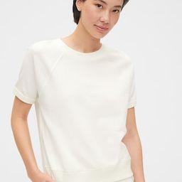 Short Sleeve Sweatshirt in French Terry | Gap (US)