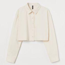 Boxy Cotton Shirt | H&M (US)