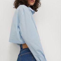 Cotton Crop Shirt | H&M (US)