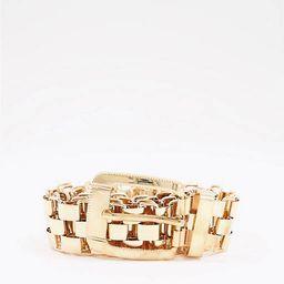 My Accessories London chain blazer belt in gold | ASOS (Global)