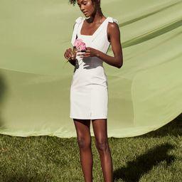 Your Sweetie White Tie-Strap Mini Dress   Lulus (US)