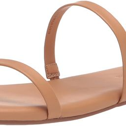 Amazon Essentials Women's Thin Two Strap Sandal Flat | Amazon (US)