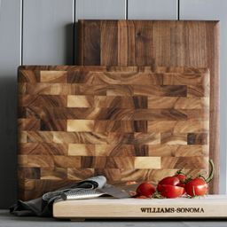 Williams Sonoma Rectangular Cutting & Carving Board with Feet, Maple   Williams-Sonoma