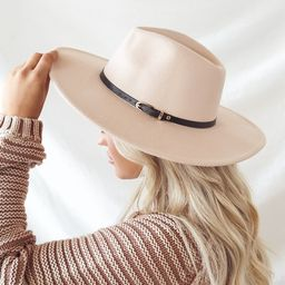 Perfect One Beige Wide Brim Hat | Lulus (US)