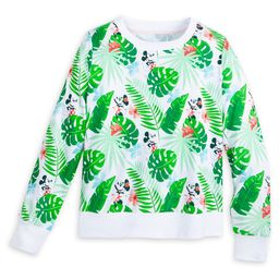 Mickey and Minnie Mouse Tropical Pullover for Women   shopDisney