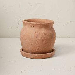 """9"""" Terracotta Planter Brown Clay - Opalhouse™ designed with Jungalow™ 
