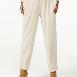 Free Assembly Women's Pull-On Corduroy Pants   Walmart (US)