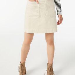 Free Assembly Women's Patch Pocket Mini Skirt   Walmart (US)