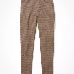 AE Plaid Mom Pant | American Eagle Outfitters (US & CA)