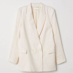 Double-breasted Jacket | H&M (US)