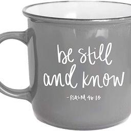 Sweet Water Decor Religious Coffee Mugs | Inspirational Bible Verse 16oz Ceramic Campfire Coffee ... | Amazon (US)