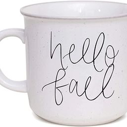 Sweet Water Decor Fall Coffee Mugs   Seasonal 16oz Ceramic Campfire Coffee Cup   Microwave & Dish...   Amazon (US)