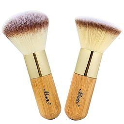 Matto Makeup Brush Set 2 Pieces Face Blush Kabuki Powder Foundation Makeup Brushes for Mineral BB...   Amazon (US)