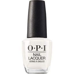 OPI Nail Lacquer, White Nail Polish, 0.5 fl oz   Amazon (US)