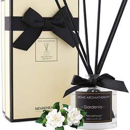 NEVAEHEART Reed Diffuser, Gardenia Fragrance Diffuser, 3.4 oz(100ml), Aromatherapy Diffuser Stick... | Amazon (US)