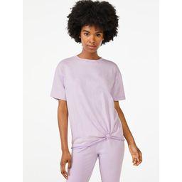 Scoop Women's Twist Front T-Shirt | Walmart (US)