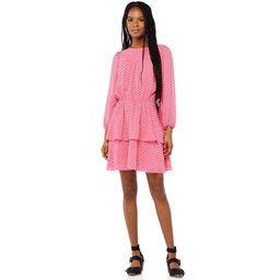 Scoop Women's Tiered Dress | Walmart (US)