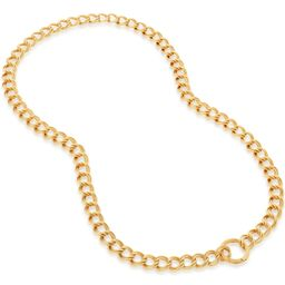 Groove Curb Chain Necklace   Monica Vinader (US)