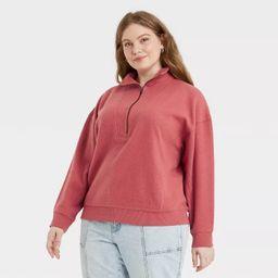 Women's Quarter Zip Sweatshirt - Universal Thread™   Target