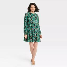 Women's Long Sleeve Babydoll Dress - Knox Rose™   Target