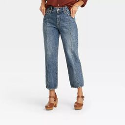 Women's Vintage Straight Cropped Jeans - Universal Thread™ | Target