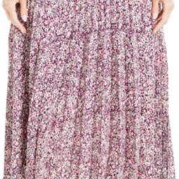 Pleated Midi Skirt | Nordstrom Rack