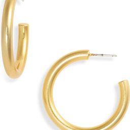 Chunky Medium Hoop Earrings   Nordstrom   Nordstrom