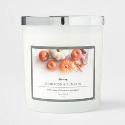 Glass Jar Macintosh and Pumpkin Candle - Threshold™ | Target