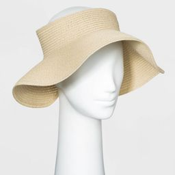 Women's Straw Visor Hat - A New Day™ | Target
