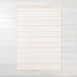 Stripe with Fringe Area Rug - Hearth & Hand™ with Magnolia | Target
