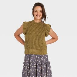 Women's Crewneck Sweater Vest - Universal Thread™   Target