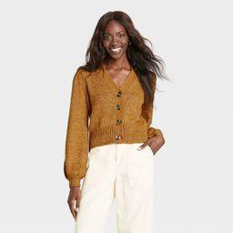 Women's Shruken Cardigan - Who What Wear™   Target