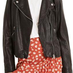 Washed Leather Moto Jacket | Nordstrom | Nordstrom