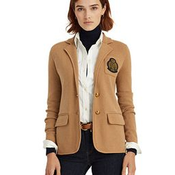 Lauren Ralph Lauren Lightweight Two-Button Blazer  & Reviews - Jackets & Blazers - Women - Macy's | Macys (US)