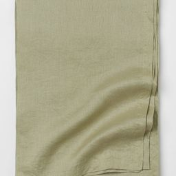 Washed Linen Tablecloth   H&M (US)