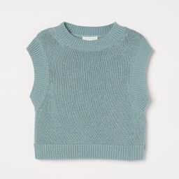 Boxy Sweater Vest   H&M (US)