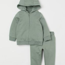 2-piece Sweatshirt Set   H&M (US)