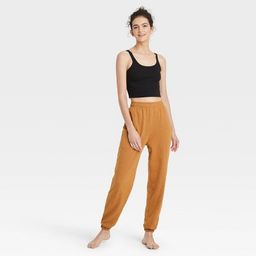 Women's French Terry Lounge Jogger Pants - Colsie™   Target