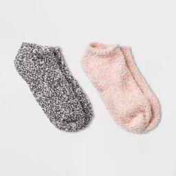 Women's Cozy Marled 2pk Low Cut Socks - Universal Thread™ 4-10   Target
