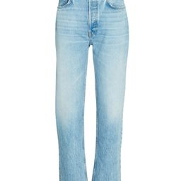 70s High-Rise Stove Pipe Jeans   INTERMIX