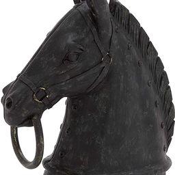 "Deco 79 44723 Polystone Horse Head Decor Product, 9""W/12""H | Amazon (US)"