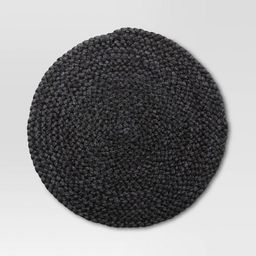 Maize Charger Placemat Black - Threshold™ | Target