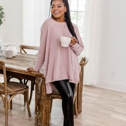 Uncomplicate My Life Lilac Pullover | The Pink Lily Boutique